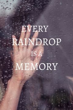 Raindrops and Memory Quote